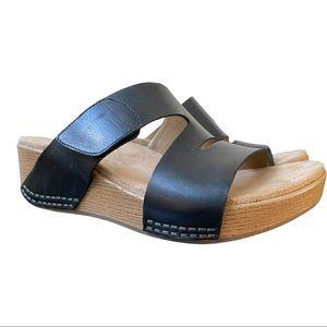 Dansko New Women's Sandal Lacee Leather Black size 38